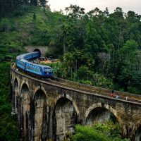Most Beautiful Train Ride in Sri Lanka